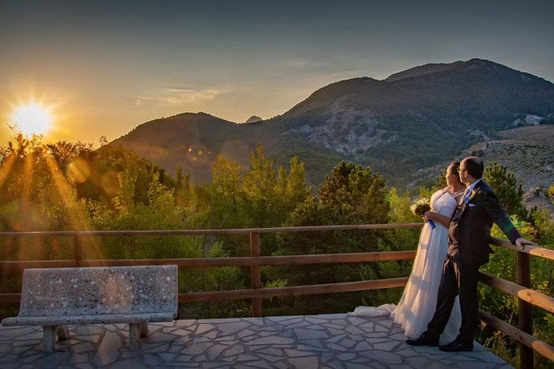 Fotografo di matrimonio in provincia di Potenza.