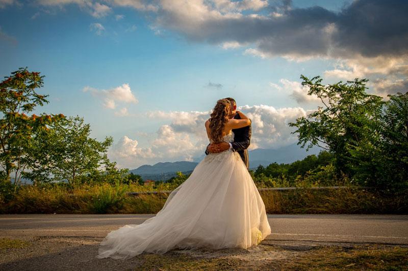 Fotografie matrimonio provincia di Potenza - Sofia e Vincenzo