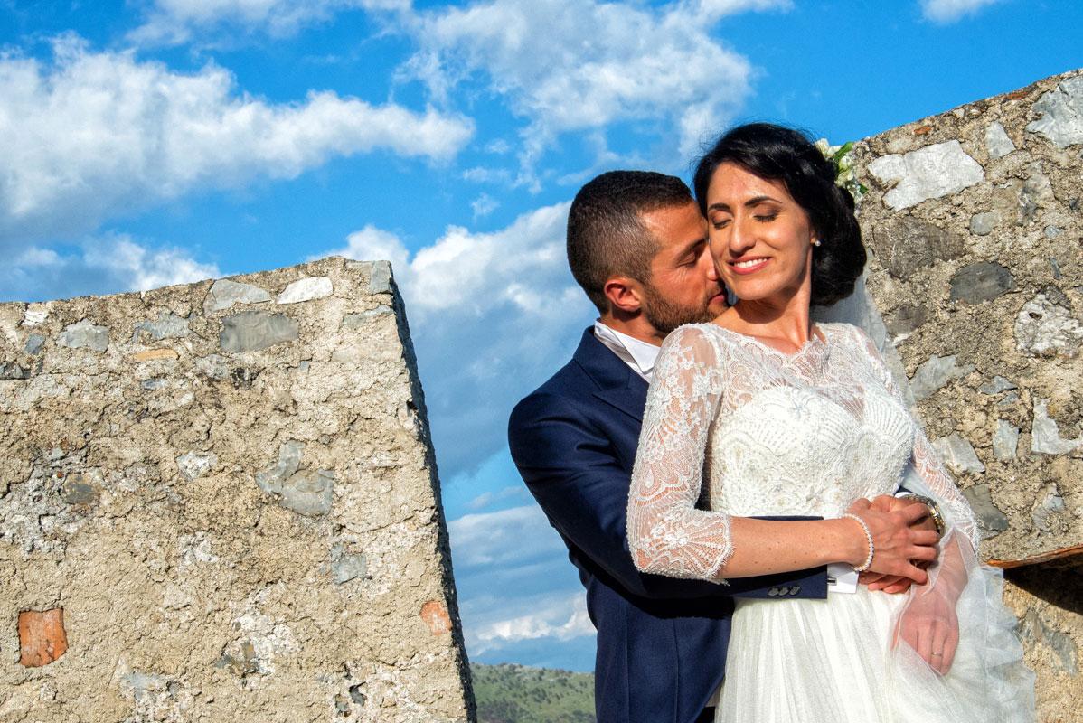 Fotografia Matrimonio Provincia di Cosenza Castello Svevo Morano