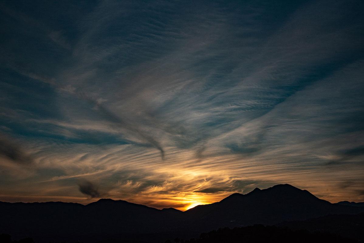 Fotografie Pollino tramonto